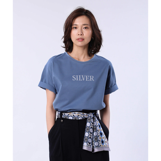 PLST - プラステ ハイゲージコットンロゴTシャツ