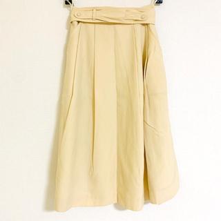 Grimoire - 4500円値引 ウール100% vintage  プリーツスカート 裏地付き