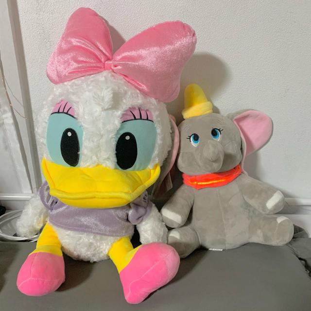 Disney(ディズニー)のデイジー ダンボ ぬいぐるみ エンタメ/ホビーのおもちゃ/ぬいぐるみ(ぬいぐるみ)の商品写真