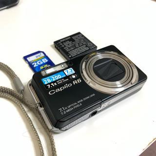 リコー(RICOH)の【本日発送】「美品」RICOH リコー Caplio R6 デジタルカメラ(コンパクトデジタルカメラ)