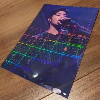 アイコン(iKON)のiKONホログラムポストカード☆ジュネ☆JU-NE(アイドルグッズ)