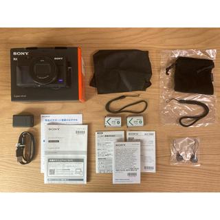 SONY - CyberShot RX100M7G、充電アダプタ、記録媒体、外部マイク他
