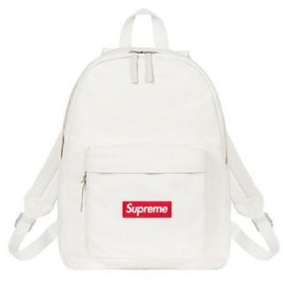 Supreme - supreme Canvas Backpack 白 ホワイト シュプリーム
