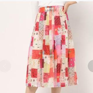 franche lippee - 新品タグつき フランシュリッペ パッチワーク プリント スカート