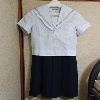 コスプレ用皆が憧れた✨女子校の本物セーラー夏服上下セット