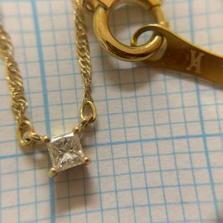 Vendome Aoyama - K18 ダイヤモンド ヴァンドームアオヤマ ネックレス ★約40cm ★18金