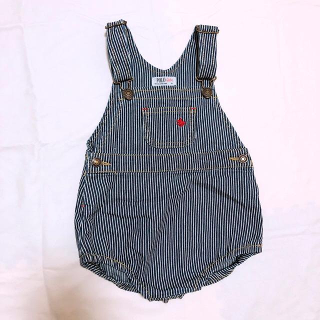 POLO RALPH LAUREN(ポロラルフローレン)の80 オーバーオール  キッズ/ベビー/マタニティのベビー服(~85cm)(ロンパース)の商品写真