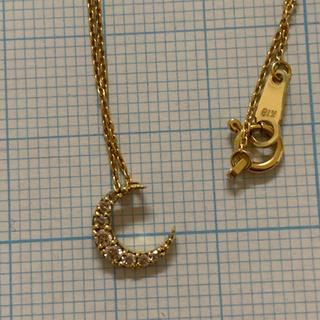 K18 ダイヤモンド ネックレス ★約40cm ★18金