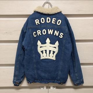 RODEO CROWNS - RODEO CROWNS ロデオクラウンズ 店舗限定 ボア デニムジャケット