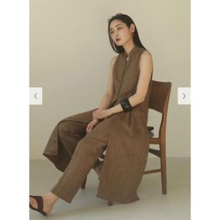 トゥデイフル(TODAYFUL)の【TODAYFUL】新品 Herringbone Linen Vest(ベスト/ジレ)