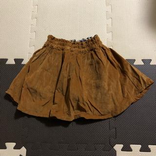 サマンサモスモス(SM2)の新品未使用 S サマンサモスモス コーデュロイスカート キャメル(スカート)