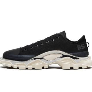 ラフシモンズ(RAF SIMONS)のRAFSIMONS x adidas Detroit runner black (スニーカー)