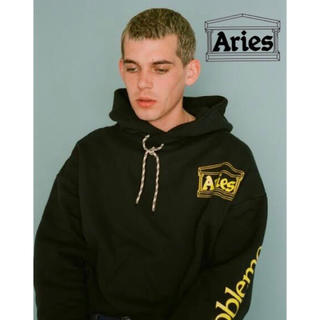 シュプリーム(Supreme)のARIES アリーズ DOUBLE THICKNESS HOODIE WITH(パーカー)