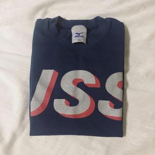 ミズノ(MIZUNO)のJSS 選手育成 Tシャツ 130cm ネイビー(マリン/スイミング)