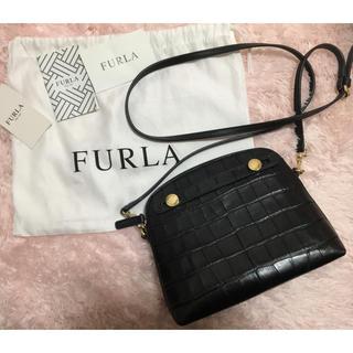 Furla - FURLA ショルダーバック クロコ