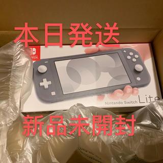 Nintendo Switch - Nintendo Switch Lite グレー スイッチライト 本体 新品