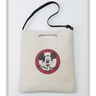 ミッキーマウス(ミッキーマウス)のDisney MICKEY MOUSE 2WAY BAG BOOK(ショルダーバッグ)