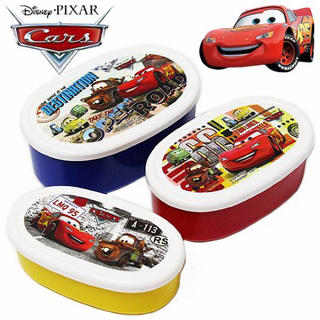 "Disney - 【新品】カーズ ""ランチケース3点セット(入れ子式)""ディズニー CARS"