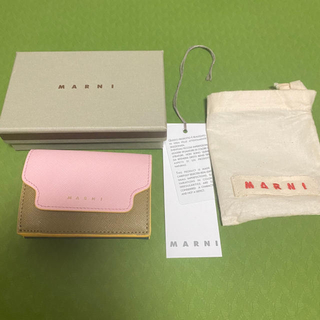 マルニ(Marni)の【美品】MARNI マルニ ミニ財布(財布)