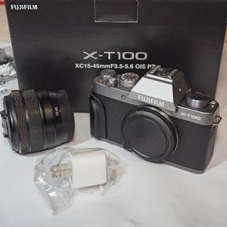 富士フイルム - FUJI FILM X−T100 レンズキット Dark Silver