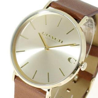 コーチ(COACH)のコーチ COACH 腕時計 メンズ チャールズ CHARLESクォーツ ゴールド(腕時計)