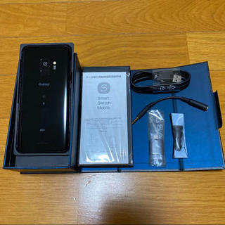 Galaxy - Galaxy S9 Midnight Black 64 GB au ブラック美品