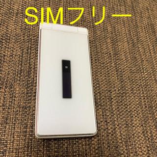 エヌティティドコモ(NTTdocomo)のジャンク品 ドコモ シムフリー  3Gガラケー sh-06g(携帯電話本体)