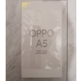 ANDROID - 新品未使用 OPPO A5 2020 SIMフリー端末 本体
