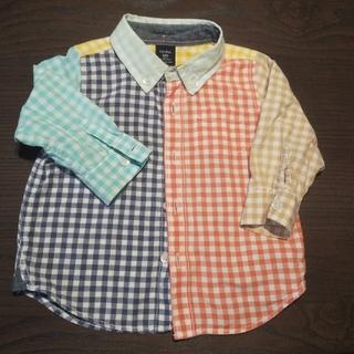 ベビーギャップ(babyGAP)のBABYGAP シャツ 80cm(シャツ/カットソー)