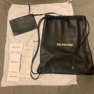 バレンシアガ(Balenciaga)のBALENCIAGAナップサック(レザー)(バッグパック/リュック)