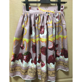 ALICE and the PIRATES - Honey Bee Berry スカート