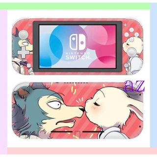 Nintendo Switch - 〖新作〗BEASTARS 任天堂SwitchLite 保護スキンシール✦ピンク