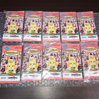 ニンテンドウ(任天堂)のどうぶつの森 amiiboカード 第4弾 50パックセット (その他)