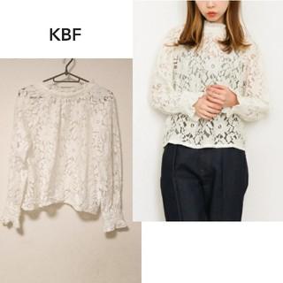 KBF - 【KBF】レース ブラウス