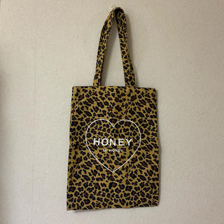 ハニーミーハニー(Honey mi Honey)のハニーミーハニー トートバッグ ヒョウ柄(トートバッグ)