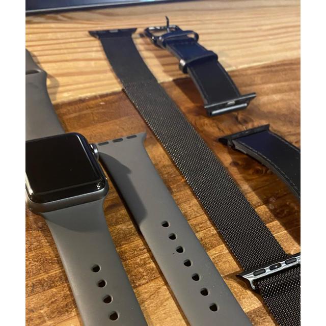 Apple(アップル)のApple Watch series 3 GPSモデル 38mm  メンズの時計(腕時計(デジタル))の商品写真