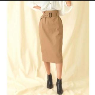 ANAP - CHILLE ベルト付き スカート