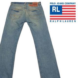 ポロラルフローレン(POLO RALPH LAUREN)のPOLO Jeans co ポロジーンズ ブーツカット デニムパンツ 31 (デニム/ジーンズ)