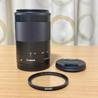 Canon - 【美品】ef-m55-200mm f4.5-6.3 is stm ブラック