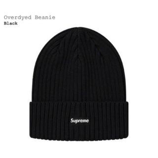 Supreme - Supreme Overdyed Beanie Black