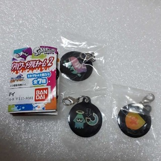 ニンテンドウ(任天堂)のイカしたギアパワーメタルチャーム2 ×3個セット(キャラクターグッズ)