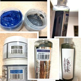 エンシェールズ カラーバターブルーシルバー シルバーシャンプー お試しセット(カラーリング剤)