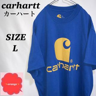 carhartt - 【人気】カーハート Tシャツ ゆるだぼ ビッグロゴ Lサイズ