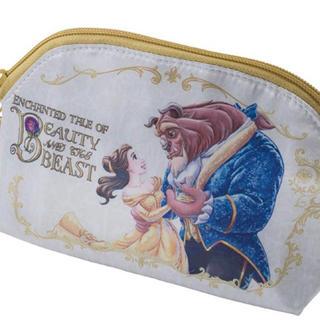 Disney - 美女と野獣 スーベニアポーチ