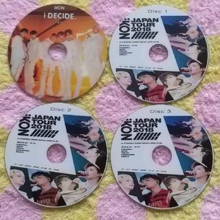 アイコン(iKON)の❤️iKON❤️DVD 4枚セット(ミュージック)