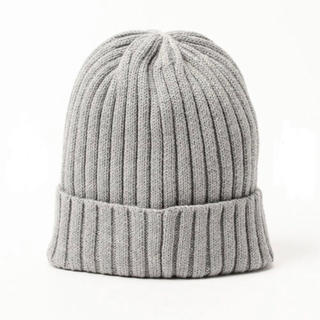 ビームス(BEAMS)のビームス ニット帽 BEAMS ビーニー ニットキャップ ワッチキャップ 男女(ニット帽/ビーニー)