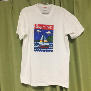 Supreme - Supreme Sailboat Tee サイズ S Small 白