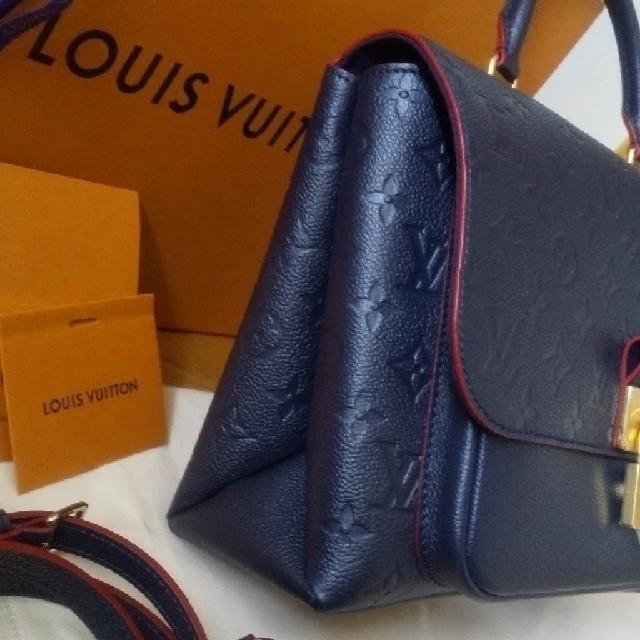 LOUIS VUITTON(ルイヴィトン)のルイヴィトン マリニャン 正規品 アンプラント クロスボディ  極美品   レディースのバッグ(メッセンジャーバッグ)の商品写真