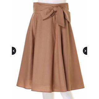 Apuweiser-riche - 即購入可能⭐︎アプワイザーリッシェ ベルト付カラーフレアスカート