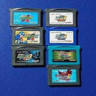ゲームボーイアドバンス(ゲームボーイアドバンス)のロックマンエグゼ 1-6セット(携帯用ゲームソフト)